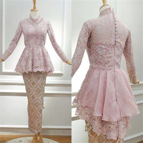 model kebaya wisuda modern berbagai motif terbaik model baju muslim terbaru