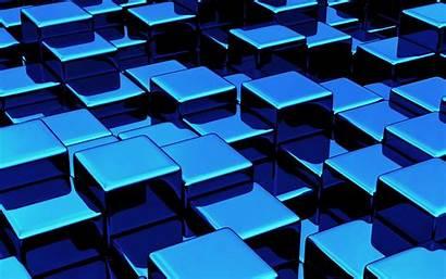 Cube 3d Cubes Wallpapers Cobalt Cubic Digital