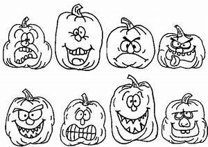 Dessin Citrouille Facile : coloriage citrouilles humoristique dessin gratuit imprimer ~ Melissatoandfro.com Idées de Décoration