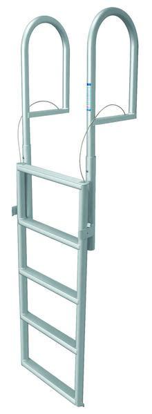 Wax Boat Dock by Jif Marine 5 Step Dock Lift Ladder Anodized Aluminum