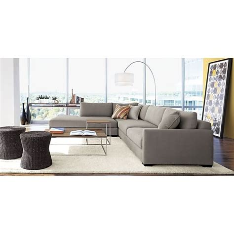 meryl arc floor l grey sectional sofas and grey