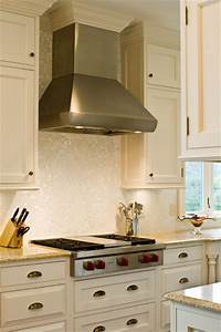 Wolf 36quot Gas Rangetop And Hood Traditional Kitchen