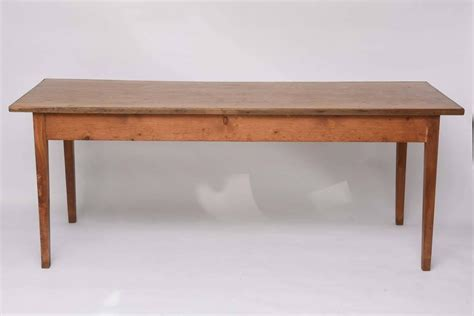 dining room table with drawers rectangular wood french farm table with two drawers circa