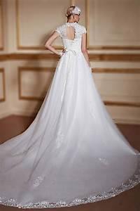 Robe De Mariée Moderne : robe de mari e moderne exquise bustier c ur appliqu dos ~ Melissatoandfro.com Idées de Décoration