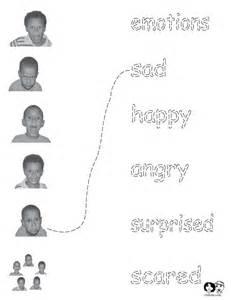 Feelings Emotions Worksheets