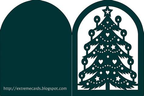 Christmas svg files for cricut and silhouette. Christmas Tree Lantern or Card