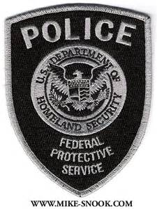 Federal Protective Service Police Badge