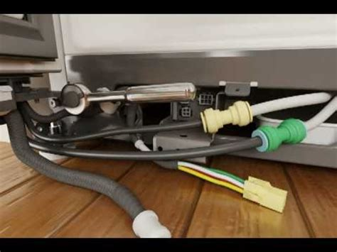 whirlpool refrigerator door removal replacement youtube