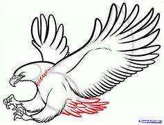 Eagle In Pencil  Draw ...