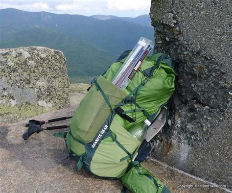 granite gear lutsen 55l backpack review section hikers
