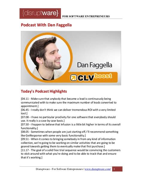 Marketing Expert by Email Marketing Expert Dan Fagella From Clvboost Discusses