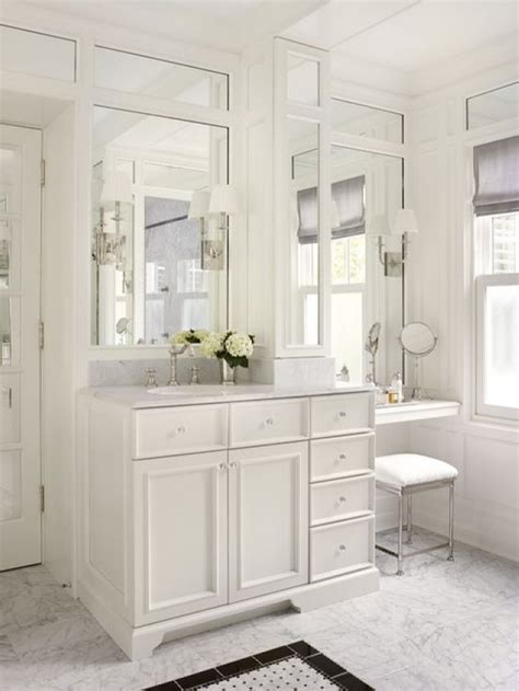 Modern Bathroom Makeup Vanity by 30 Most Outstanding Bathroom Vanity With Makeup Counter Ideas