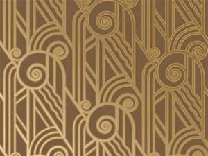 Art deco wallpaper Art Deco/Art Nouveau Pinterest