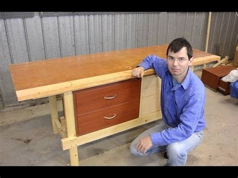 quickie workbench   mortise  tenons youtube
