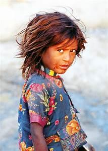 India: Street girl. by NickRainImages on DeviantArt