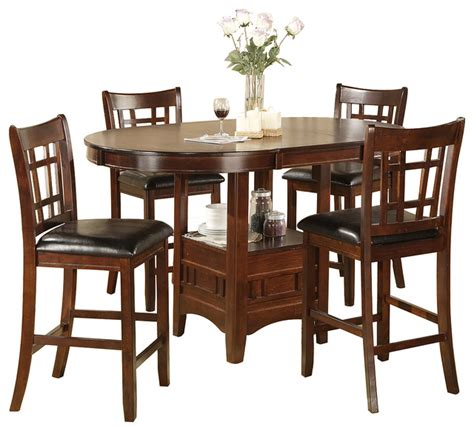 bistro table and 4 chairs jacksonville storage pub table and 4 chairs set