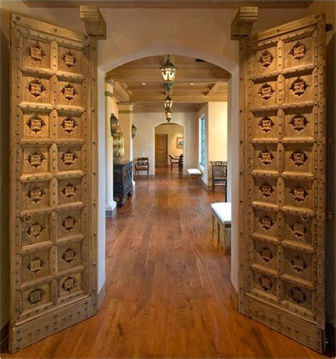 Love Antique Indian Doors In Modern Homes  Home Sweet