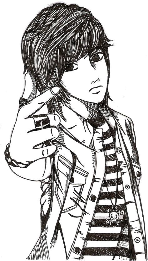 Wallpaper Anime Boy Cool - boy sketch hd images anime boys sketch hd wallpapers cool
