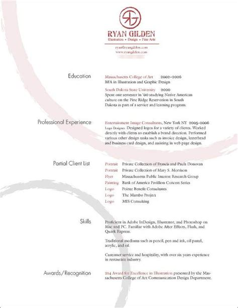 Wall Resume Format by The World S Catalog Of Ideas