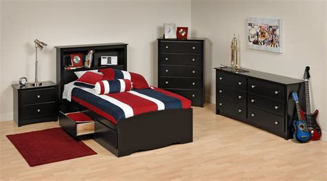 alluring boys bedroom set  twin size bookcase bed