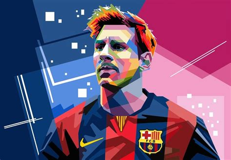 messi cartoon wallpaper