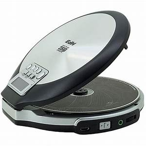 lettore cd portatile soundmaster cd9220 nero color argento With cd player with resume function