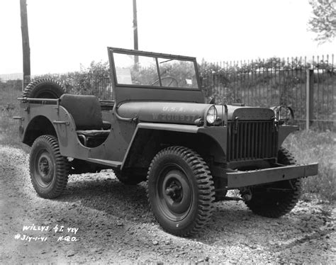 1942 Willys Mb Jeep Milestones