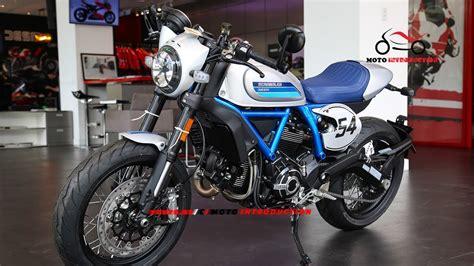 Ducati Scrambler Sixty2 2019 by Details Ducati Scrambler Cafe Racer 2019 Official New