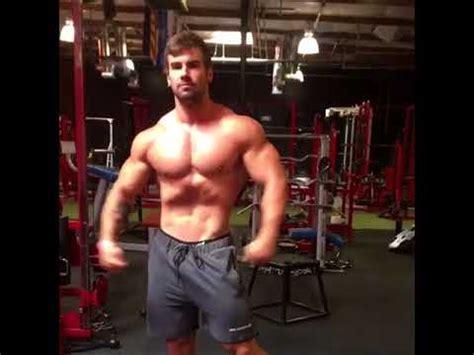 jake burton flexing   gym youtube