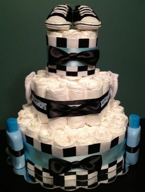 Bow Tie Baby Shower Ideas - custom personalized 65 cake bow tie theme blue
