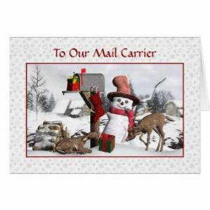 mailman gifts on zazzle With letter carrier christmas cards