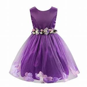 robe princesse mariage pour petite fille fashion designs With chambre bébé design avec jupe longue imprimée fleur