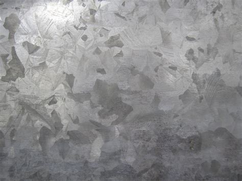 Galvanized Metal Texture Steel Plate by TextureX-com on