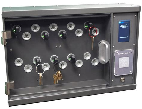 The New Cyberkey Vault 20 Electronic Key Cabinet Keeps