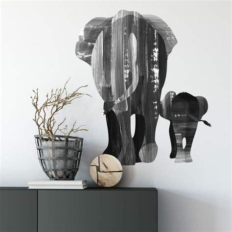 Wandtattoo Elefantenfamilie Kinderzimmer by Wandtattoo Goed Blauw Elefantenfamilie Wall De