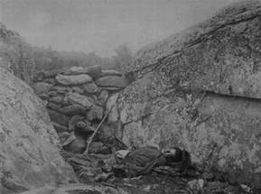 Devil Den Ghost at Gettysburg