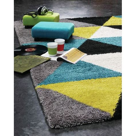 Lime Green And Black Rug by Delgadillo Triangles Area Rug Teal Lime Green Gray