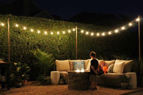outside string lights uk