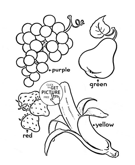 Coloring Fruit by 55 Fruit Printable Coloring Pages Fruit Pineapple Fruits