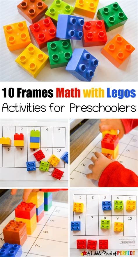 best 25 lego activities ideas on lego 718 | beafc0aa9feea0994bb34944e446c625 kids math preschool activities