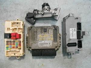 Fiat Ducato 2 3 16v Key Entry Kit    Ecu Set  0 281 014 209