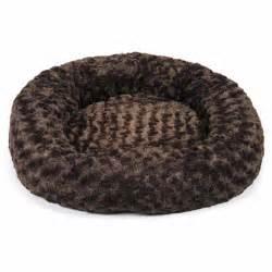 Plush Donut Dog Beds