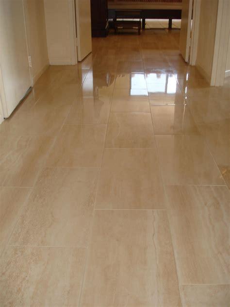 porcelain tile floor  hallway  jersey custom tile