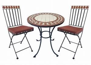 Mosaik Gartenmöbel Set : garden pleasure balkon set orlando mosaik braun beige ~ Watch28wear.com Haus und Dekorationen