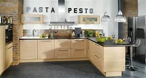 modele cuisine amenagee cuisine en image With modeles de cuisines amenagees