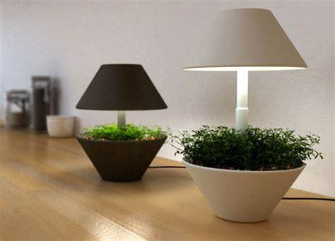 le led pour plante lightpot by shulab le pot de fleurs