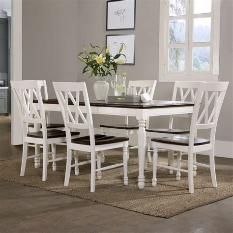 white kitchen set furniture beachcrest home 7 dining set reviews wayfair