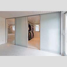 Schiebetüren Als Raumteiler In Die Ankleide Und Durchgang