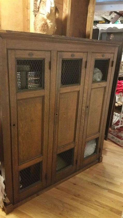 antique school wooden gym lockers obnoxious antiques