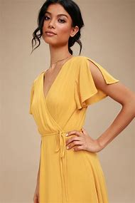Best Mustard Dress - ideas and images on Bing  0a9e5cf5b